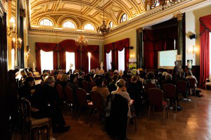 Audience at the Harbour Commissioners Office event
