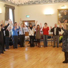 Stress awareness day event at Newtownards Town Hall