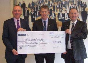 Law Society cheque presentation