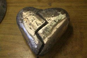 Bronze Casting Heart