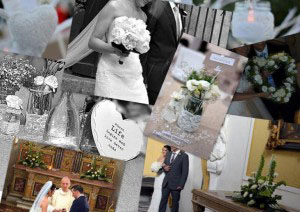Wedding Floristry Collage