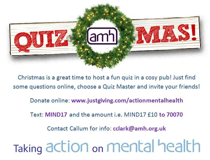 Christmas Quiz | Action Mental Health