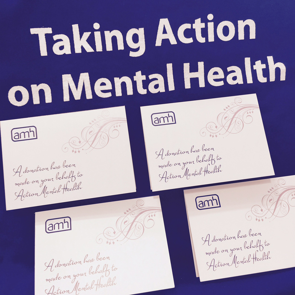 wedding favours | Action Mental Health